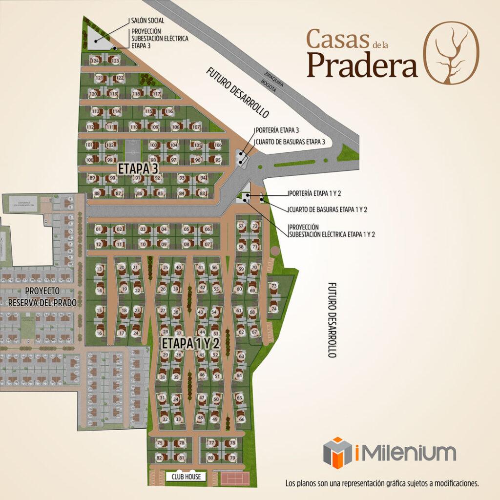 Urbanismo Casas de la Pradera