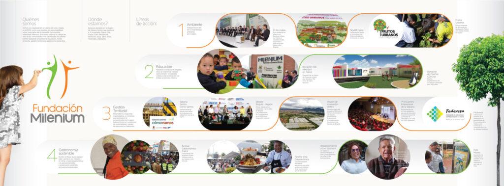 Infografía Fundación Milenium